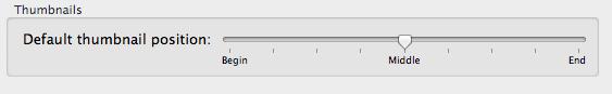 """Figure 1 : """"Preferences for default thumbnails"""""""