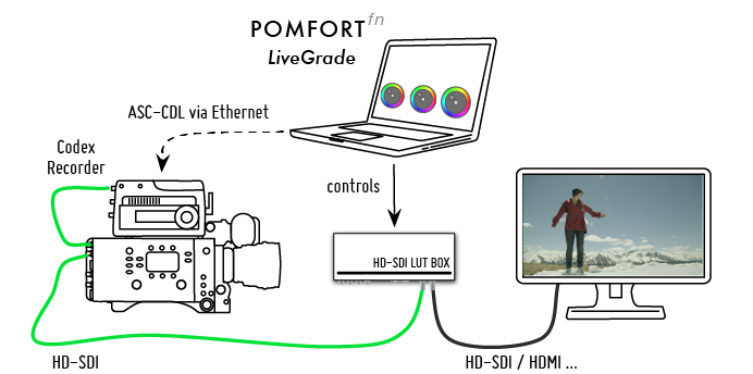 "Figure 1: ""Codex Workflow with LiveGrade PRO"""