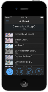 figure 1: iOS Remote
