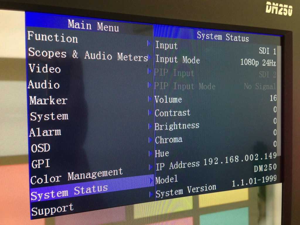 figure 1: finding the monitor's IP address