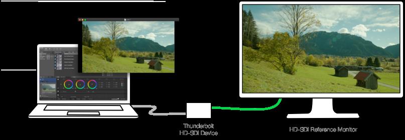 Figure 1: Schematic presentation of a LiveGrade